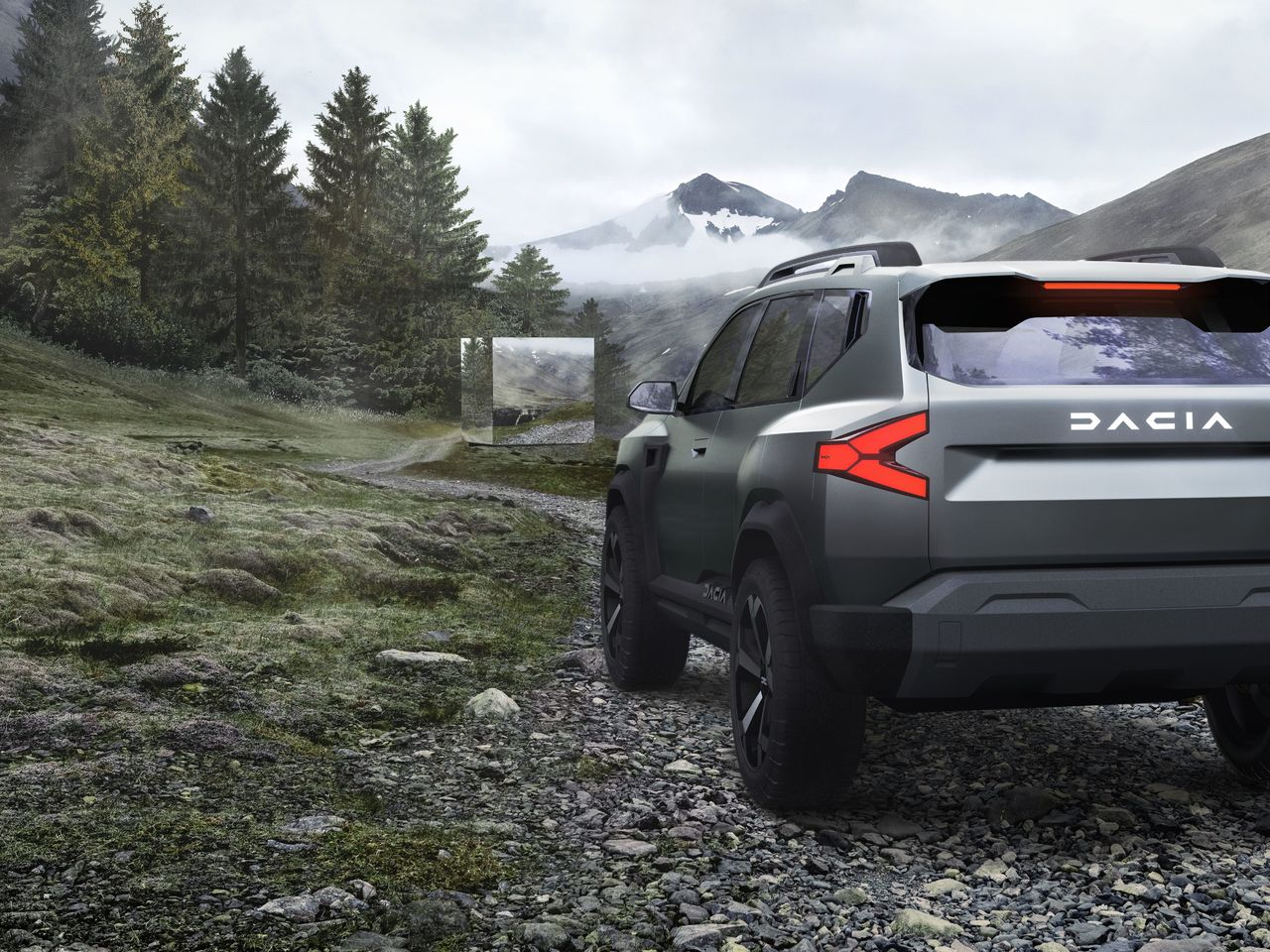 Dacia: neue Business Unit, neues Concept Car, mehr Coolness
