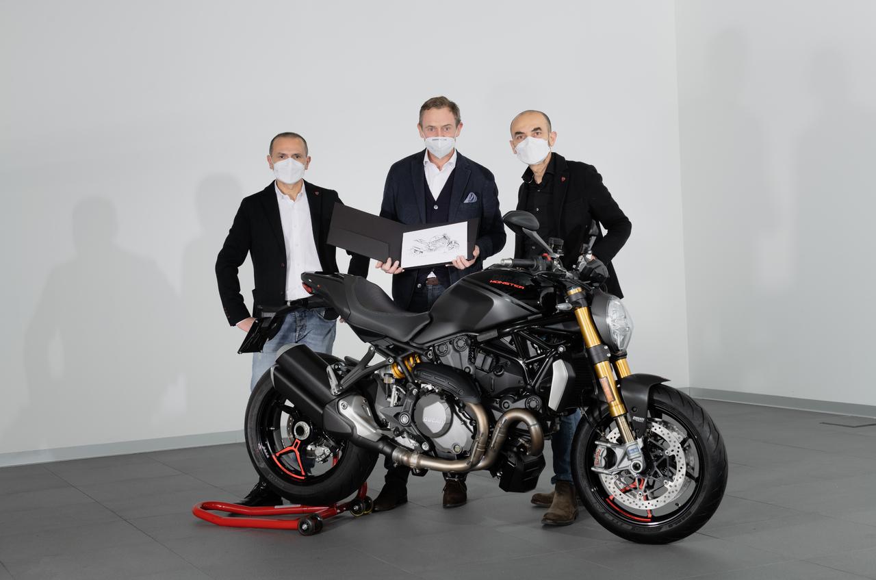 Ducati feiert die 350.000ste Monster