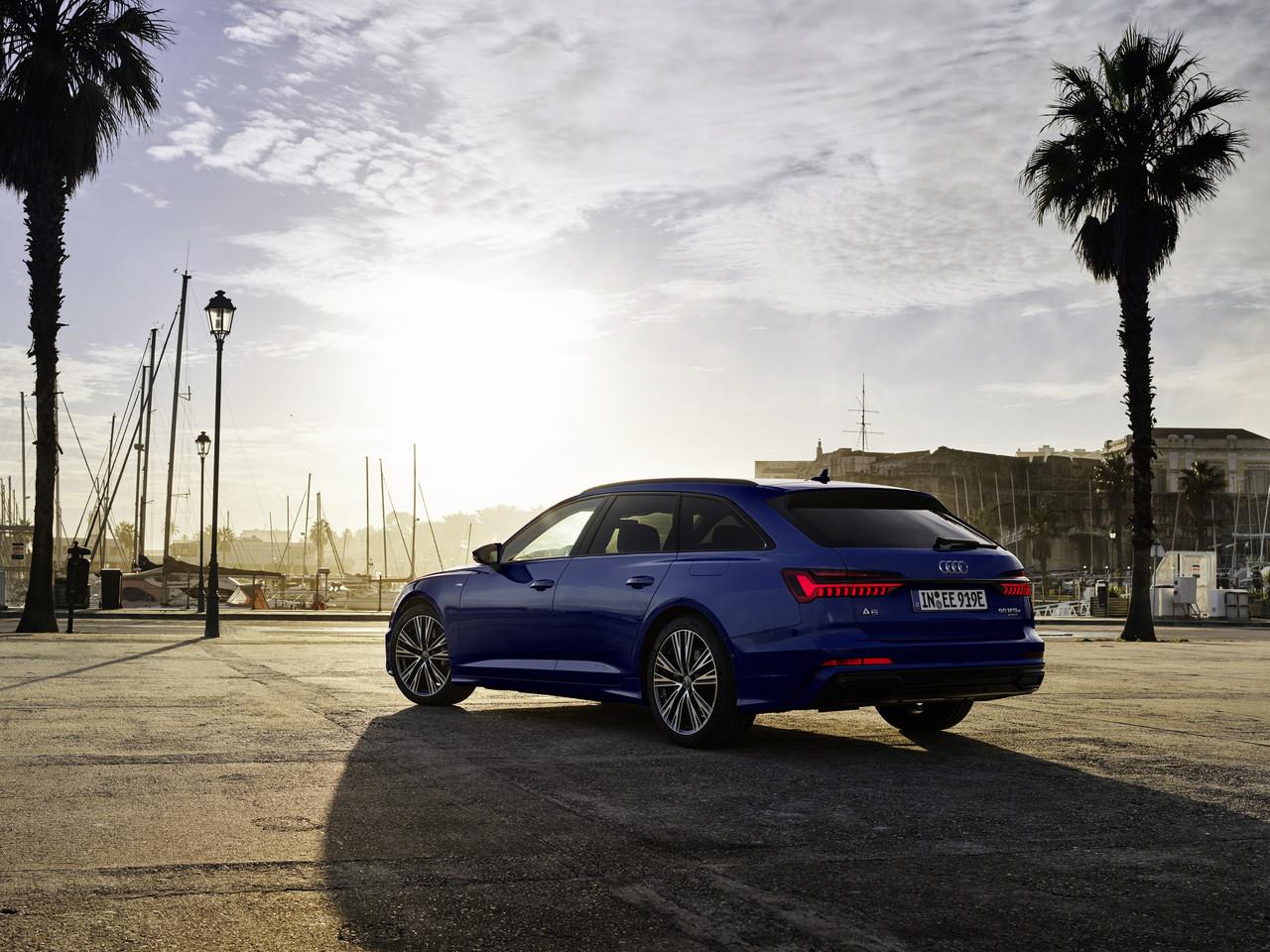 Stärkere Batterie, höhere Reichweite: Upgrade für die Audi Plug-in-Hybride Q5, A6 und A7.