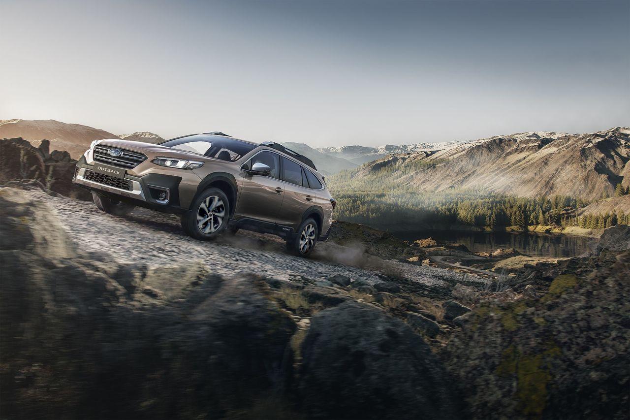 Subaru Outback startet in die sechste Modellgeneration