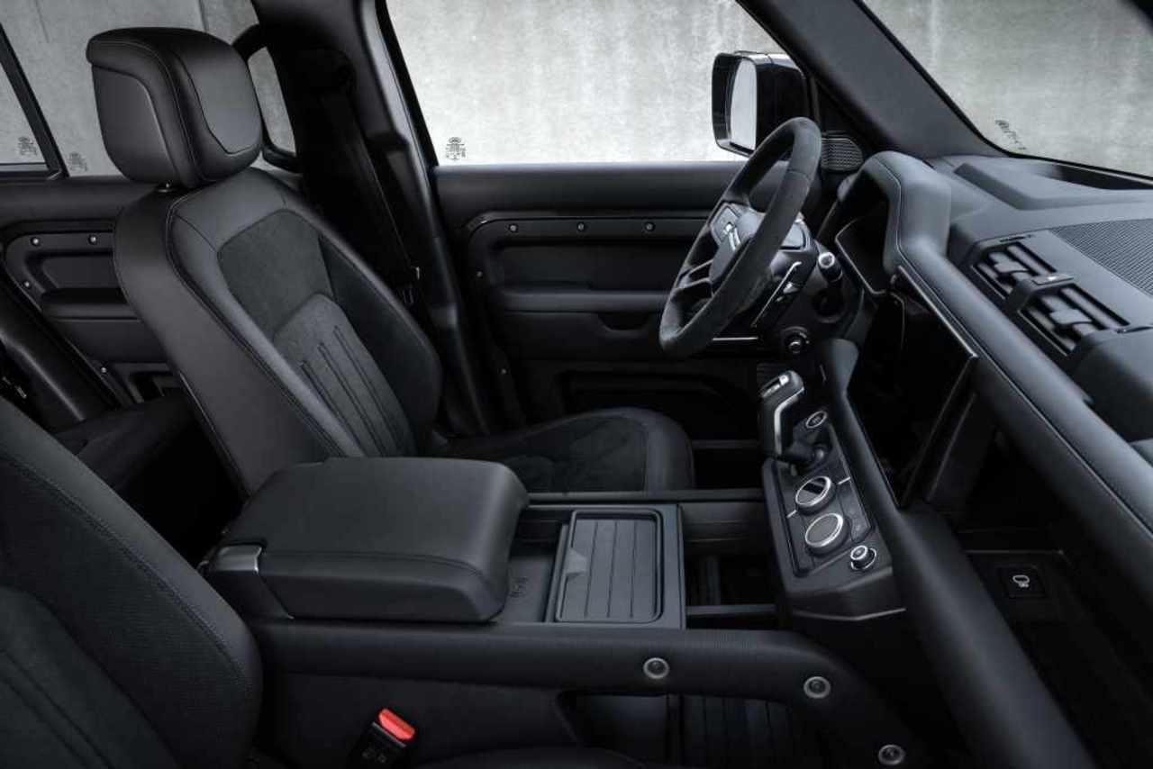 Land Rover Defender mit V8-Topmotorisierung und weiteren Modellvarianten...