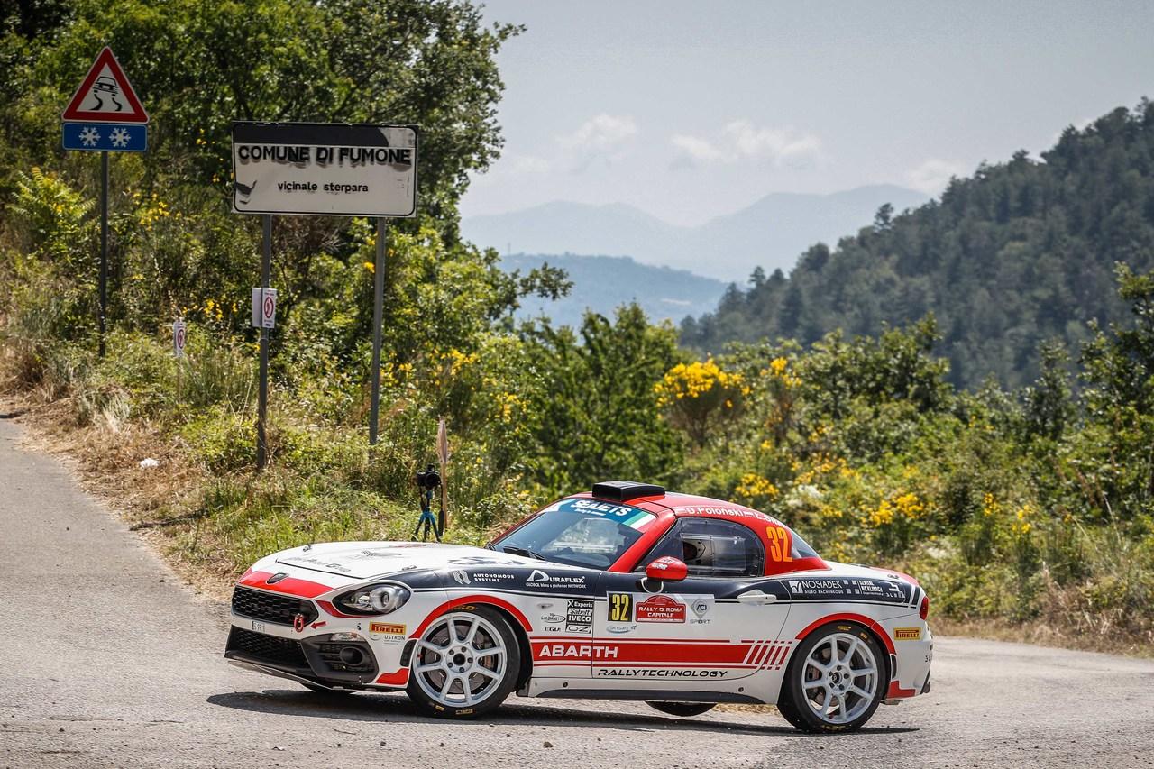 Ein Wochenende im Zeichen des Skorpions: Die italienische F4 startet in Imola und der Abarth Rally Cup macht bei der Rally di Roma Capitale Station