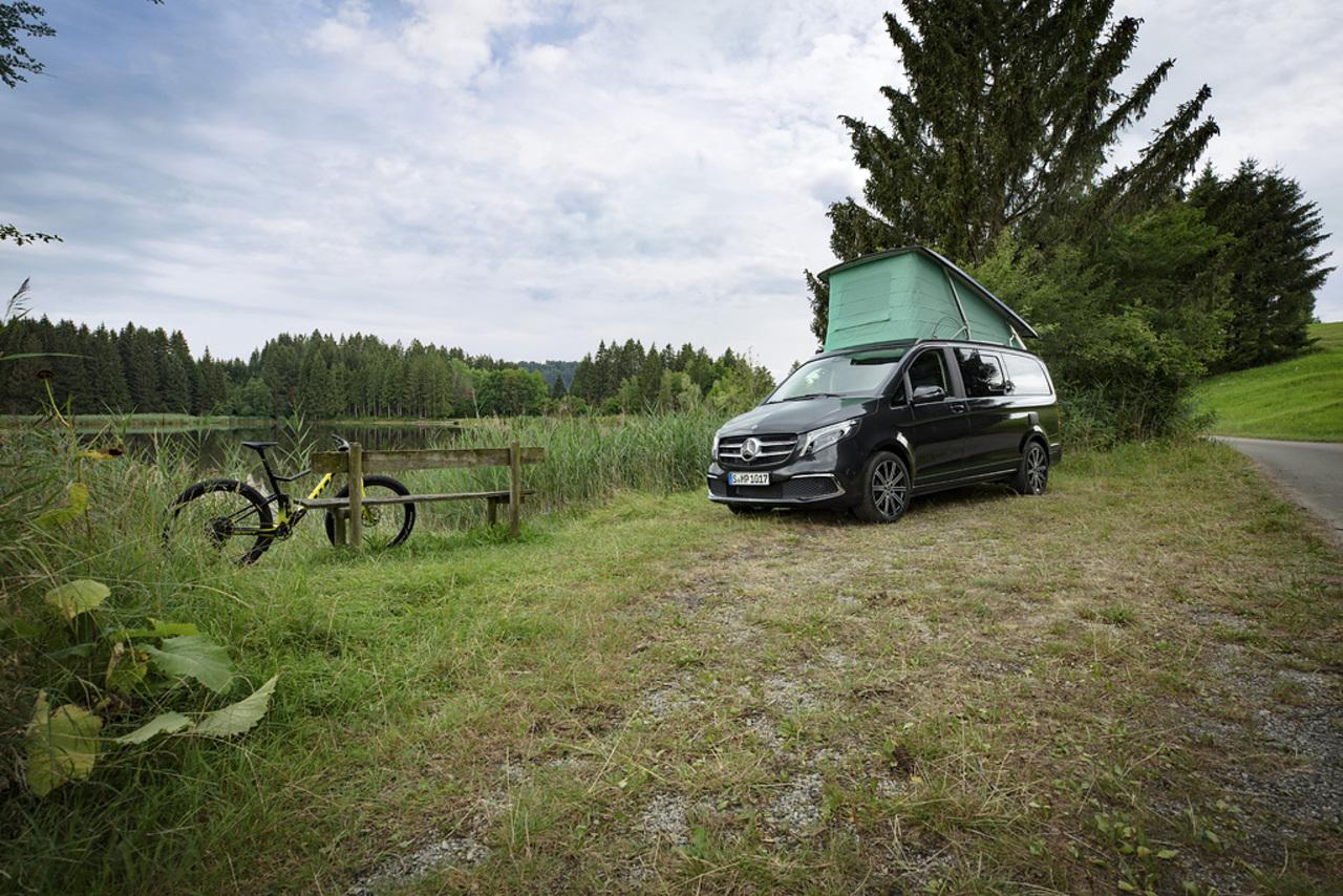 Mercedes-Benz auf dem Caravan Salon 2021 mit 'großen' und 'kleinen' Highlights.
