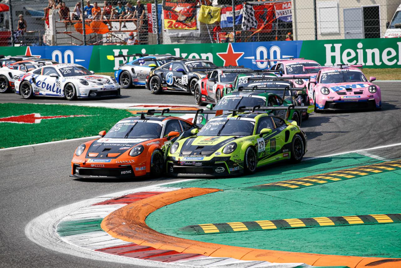 Porsche Mobil 1 Supercup, 8. Lauf (Monza): Champion Larry ten Voorde beendet Supercup-Saison mit einem Sieg.
