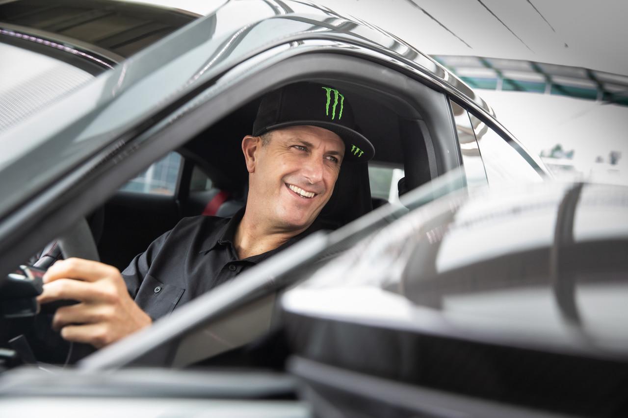 Welcome! Audi elektrifiziert US-Star Ken Block .