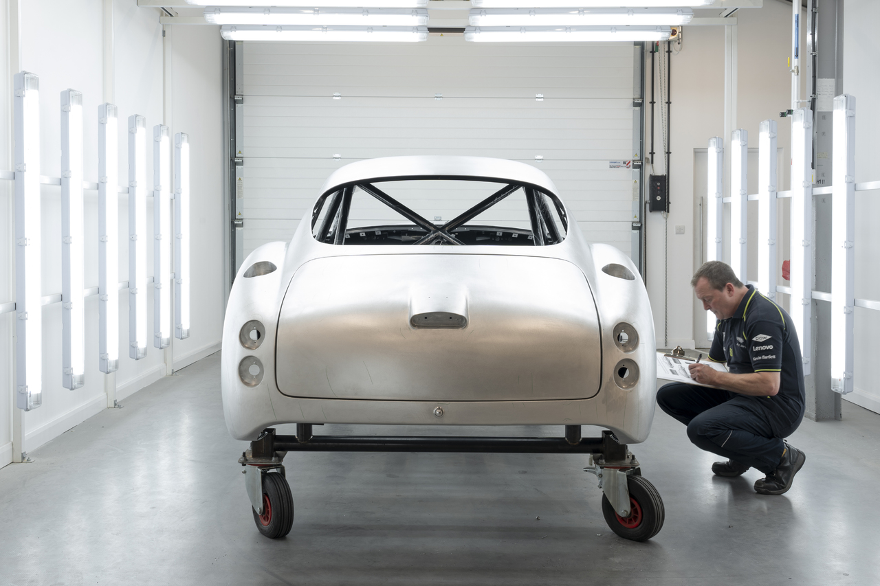 Making History The Aston Martin Db4 Gt Zagato Continuation Programme Is Handcrafting Excellence Motomovie De
